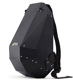 The stealthy mens backpack by SOLID GRAY