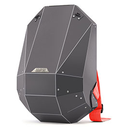 The futuristic minimalist backpack by SOLID GRAY